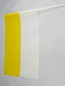 FLAGA PAPIESKA - CHORĄGIEWKA FOLIOWA pion