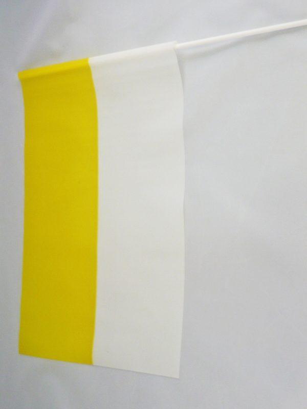 FLAGA PAPIESKA – CHORĄGIEWKA FOLIOWA pion