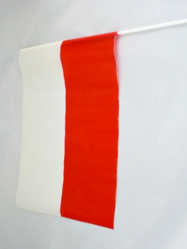 FLAGA POLSKI – CHORĄGIEWKA FOLIOWA pion