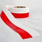 FLAGA POLSKI W TAŚMIE 6CM