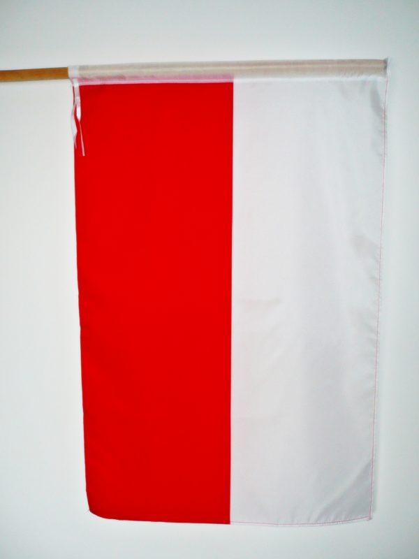 FLAGA POLSKI 90X60 PROFIL