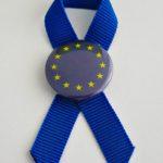 KOKARDKA Z PRZYPINKĄ UE 1