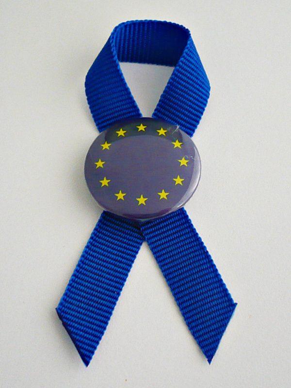 KOKARDKA Z PRZYPINKĄ UE PROFIL