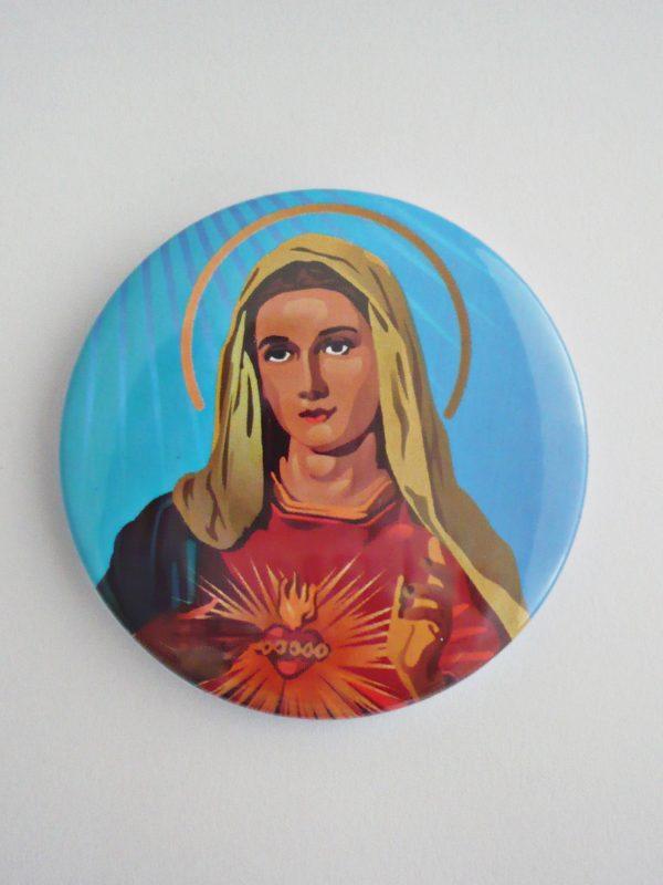 PRZYPINKA MARYJA NA NIEBIESKIM TLE 1