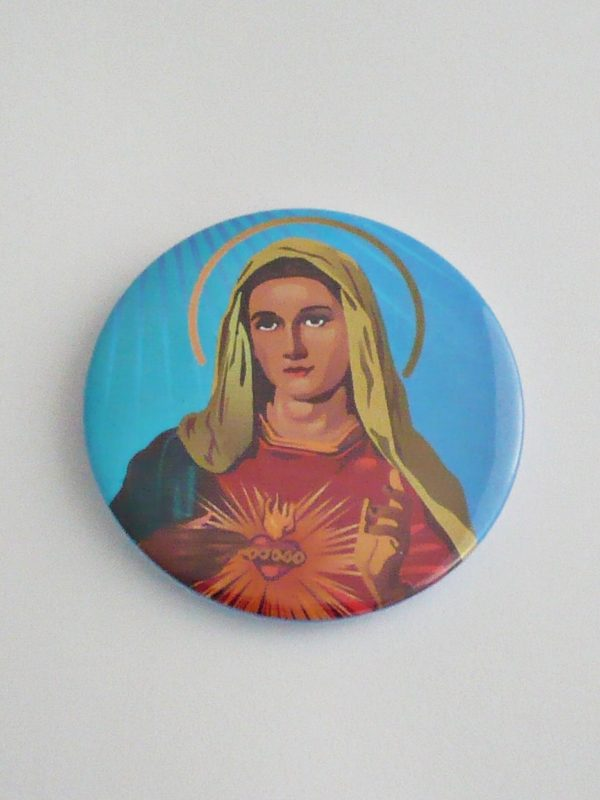 PRZYPINKA MARYJA NA NIEBIESKIM TLE 2