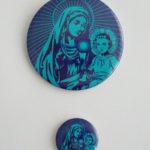 PRZYPINKA MARYJA Z JEZUSEM MAŁA I DUŻA