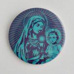 PRZYPINKA MARYJA Z JEZUSEM PROFIL