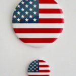 PRZYPINKA USA DUŻA I MAŁA 1