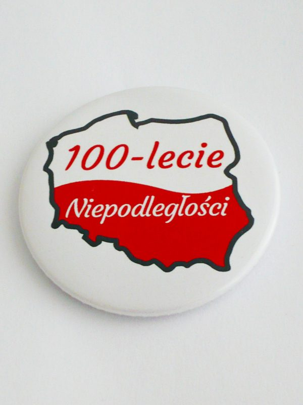 PRZYPINKA 100LECIE KONTUR 1