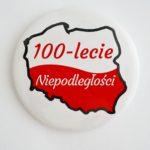 PRZYPINKA 100LECIE KONTUR