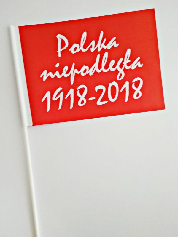 CHORĄGIEWKA 100LECIE CZERWONA 1