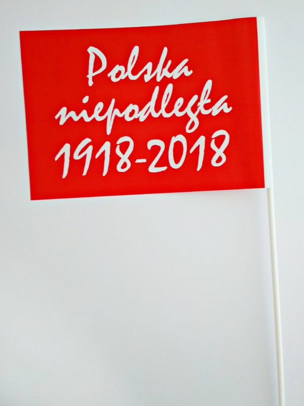 CHORĄGIEWKA 100LECIE CZERWONA 2