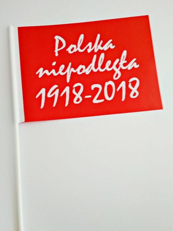 CHORĄGIEWKA 100LECIE CZERWONA