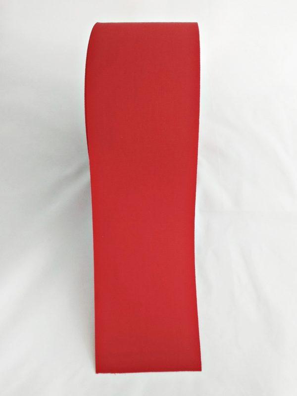 TAŚMA RYPSOWA 10cm CZERWONA 1
