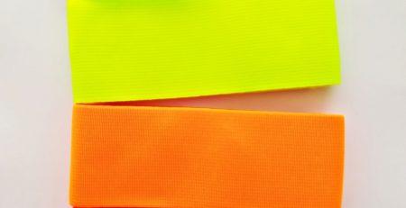 opaski elastyczne neonowe