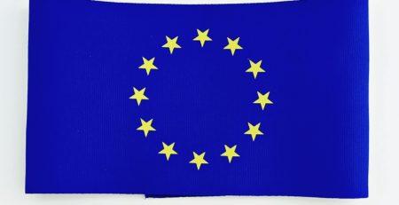 Opaska w barwach unii europejskiej